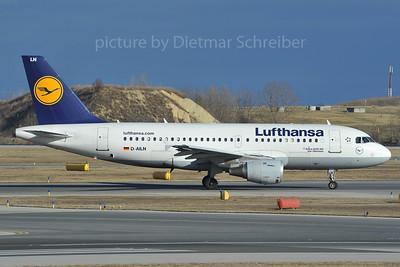 2012-01-06 D-AILN AIrbus A319 Lufthansa