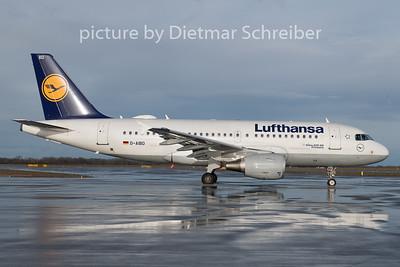2018-12-25 D-AIBD Airbus A319 Lufthansa