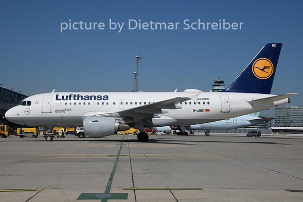 2019-08-15 D-AIBE Airbus A319 Lufthansa