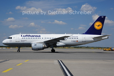 2014-07-16 D-AILE AIrbus A319 Lufthansa