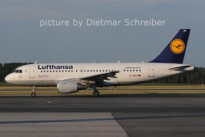 2012-05-28 D-AIBG Airbus A319 Lufthansa
