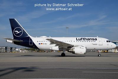 2021-10-17 D-AILI AIrbus A319 Lufthansa
