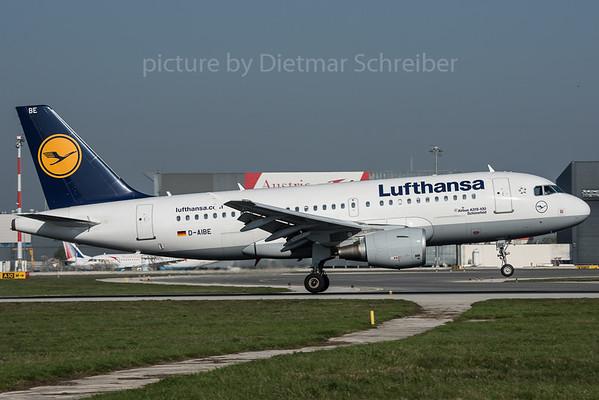 2015-10-31 D-AIBE Airbus A319 Lufthansa