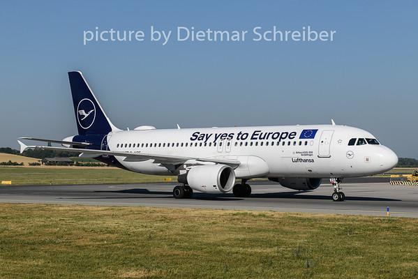 2019-06-26 D-AIZG Airbus A320 Lufthansa