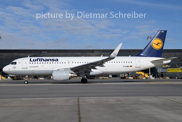 2020-02-06 D-AIWA Airbus A320 Lufthansa