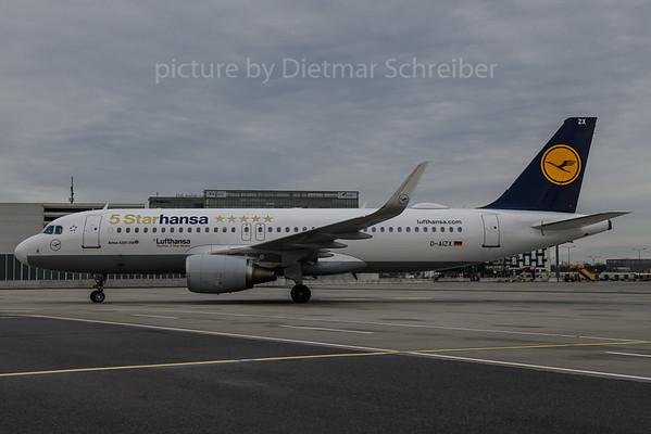 2018-01-05 D-AIZX Airbus A320 Lufthansa