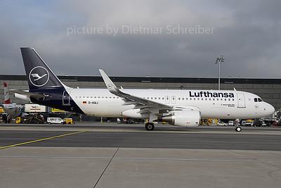 2019-10-18 D-AIWJ Airbus A320 Lufthansa