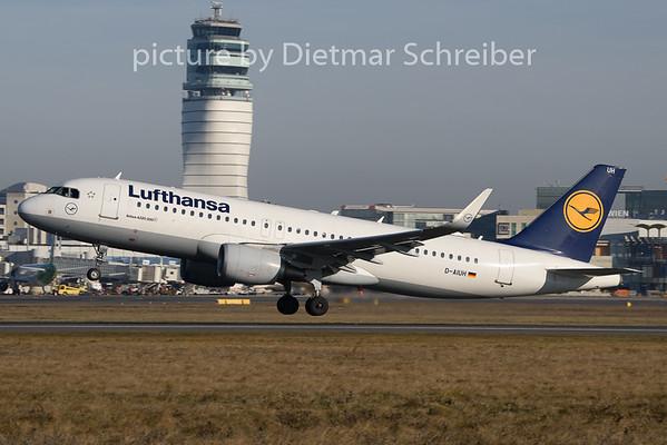 2020-01-02 D-AIUH Airbus A320 Lufthansa