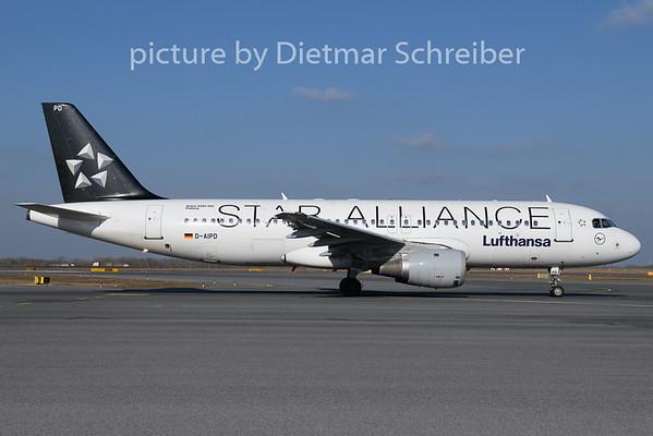 2019-02-15 D-AIPD Airbus A320 Lufthansa