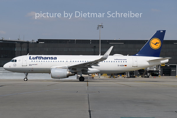 2019-04-09 D-AIZW Airbus A320 Lufthansa