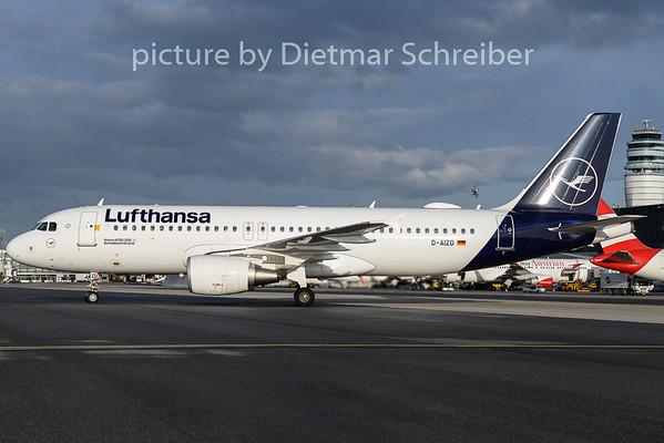 2020-02-12 D-AIZD Airbus A320 Lufthansa