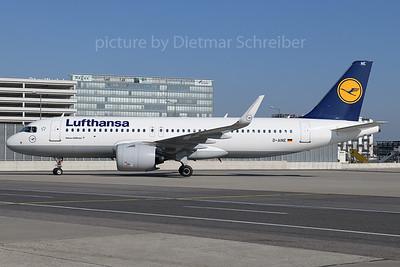 2020-04-01 D-AINE Airbus A320neo Lufthansa