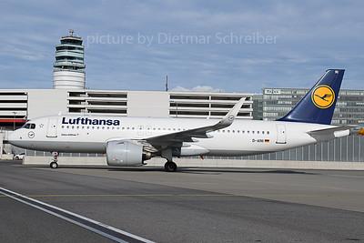 2019-10-10 D-AINI AIrbus A320neo Lufthansa