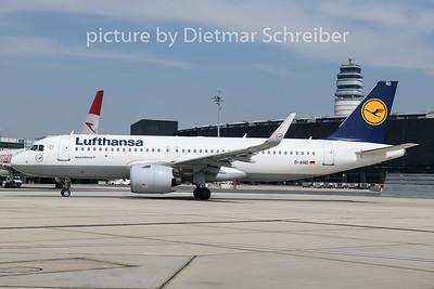 2020-05-17 D-AIND Airbus A320neo Lufthansa