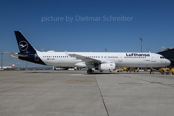 2018-04-13 D-AISP Airbus A321 Lufthansa