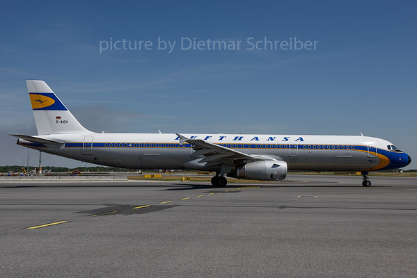 2017-07-05 D-AIDV Airbus A321 Lufthansa