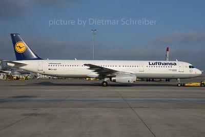 2016-12-06 D-AIDI Airbus A321 Lufthansa