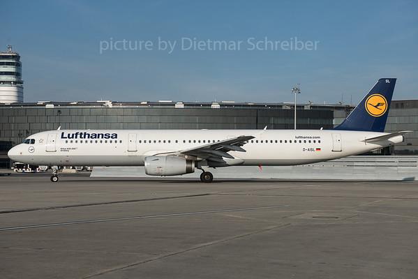 2015-12-04 D-AISL Airbus A321 Lufthansa