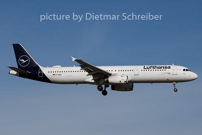 2020-02-13 D-AISQ Airbus A321 Lufthansa