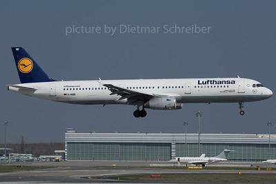 2016-03-28 D-AISE Airbus A321 Lufthansa