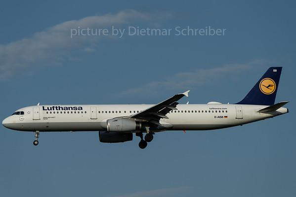 2017-08-04 D-AISB AIrbus A321 Lufthansa