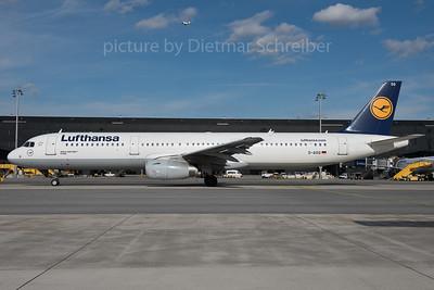2016-02-20 D-AISQ Airbus A321 Lufthansa