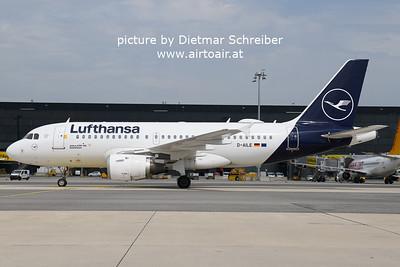2021-05-22 D-AILE AIrbus A319 Lufthansa
