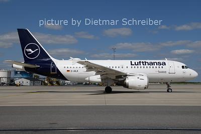 2021-08-25 D-AILK AIrbus A319 Lufthansa