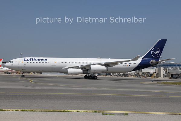 2021-06-24 D-AIGT Airbus A340-300 Lufthansa