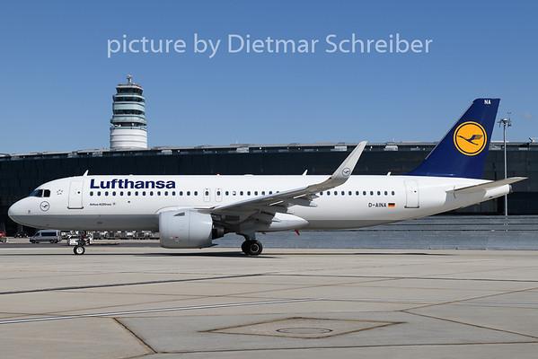 2020-04-26 D-AINA Airbus A320neo Lufthansa