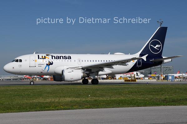 2021-08-13 D-AILU AIrbus A319 Lufthansa