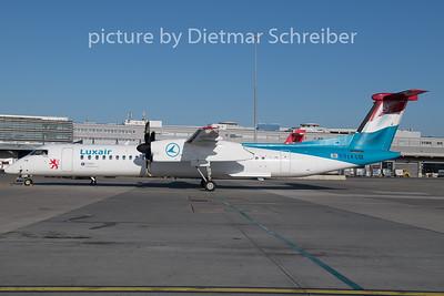 2019-12-20 LX-LGE Dash8-40 Luxair