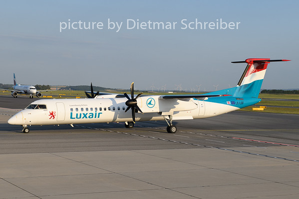 2020-07-23 LX-LGF Dash8-400 Luxair