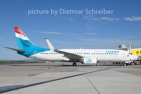 2019-06-21 LX-LGV Boeing 737-800 Luxair