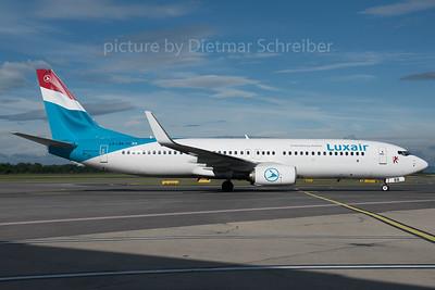 2016-06-14 LX-LBB Boeing 737-800 Luxair