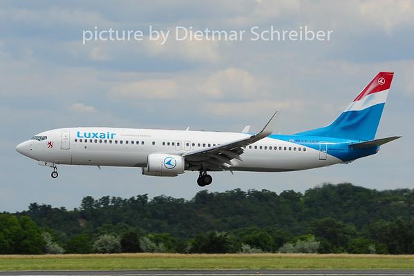 2014-06-16 LX-LGV Boeing 737-800 Luxair