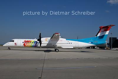 2021-06-07 LX-LQC Dash 8-400 Luxair