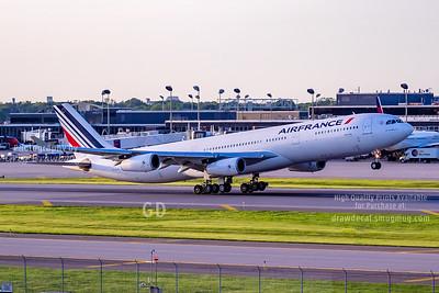 Air France Twilight Departure