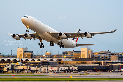 Air France Departing from MSP