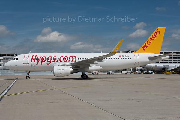 2016-08-03 TC-DCL AIrbus A320 Pegasus