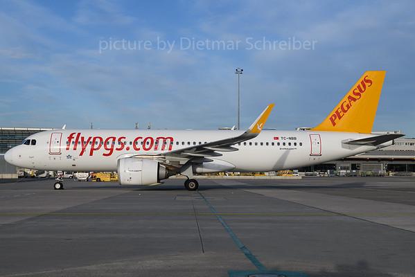 2017-12-13 TC-NBB Airbus A320neo Pegasus Airlines