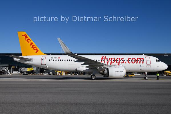 2020-11-18 TC-NBI AIrbus A320neo Pegasus