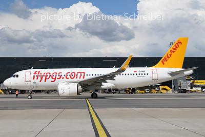 2020-08-19 TC-NBZ Airbus A320neo Pegasus Airlines