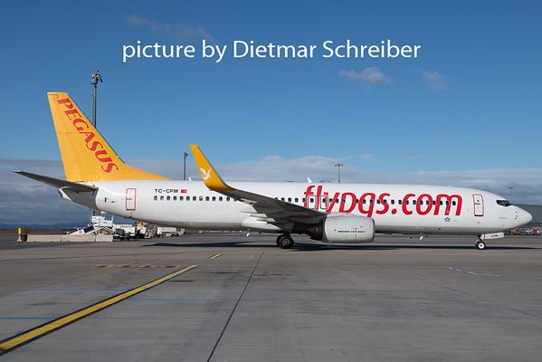 2020-02-14 TC-APM Boeing 737-800 Pegasus Airlines