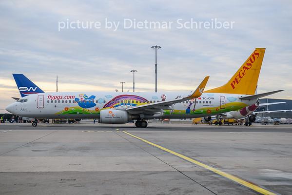 2019-12-30 TC-APN Boeing 737-800 Pegasus