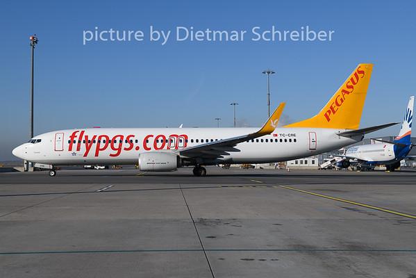 2020-01-02 TC-CRE Boeing 737-800 Pegasus