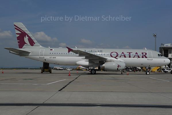 2013-06-28 A7-AHX Airbus A320 Qatar Airways
