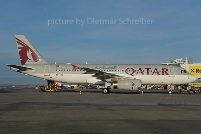 2013-11-08 A7-AHI AIrbus A320 Qatar Airways