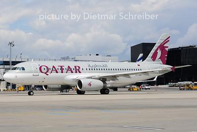 2014-06-20 A7-AHQ Airbus A320 Qatar Airways