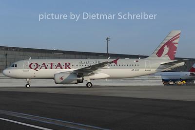 2012-12-13 A7-AHX Airbus A320 Qatar Airways